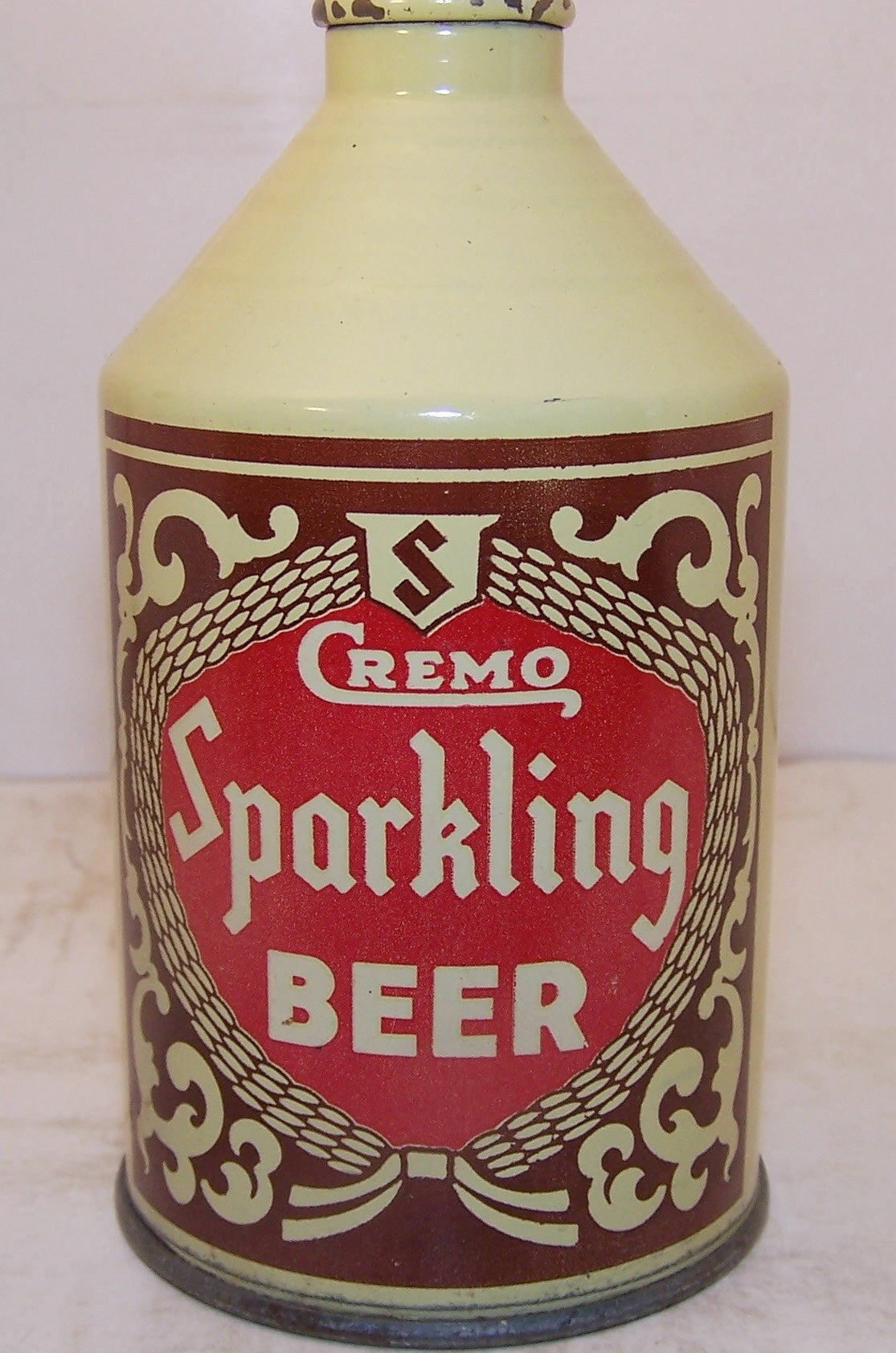 Cremo Sparkling Beer, USBC 192-33 Grade 1/1+ Sold on 06/03/17