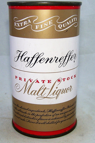 Haffenreffer Private Stock Malt Liquor, USBC 78-37, Grade 1/1+  Sold on 06/08/18