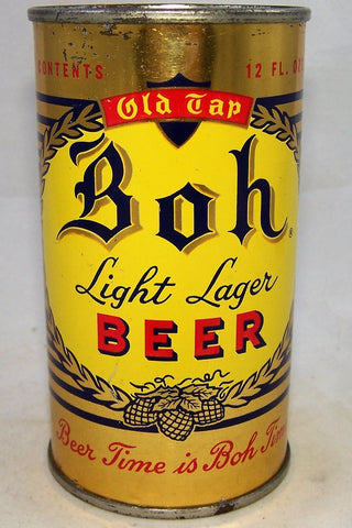 Boh Light Lager Beer, USBC 40-10, Grade 1/1+
