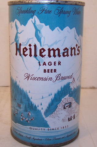 Heileman's Lager Beer (Brown Letters) USBC 81-22, Grade 1/1+ Sold 2/27/15