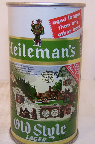 Heileman's Old Style Lager Beer, USBC 108-15, Grade 1/1+  Sold 11/20/14