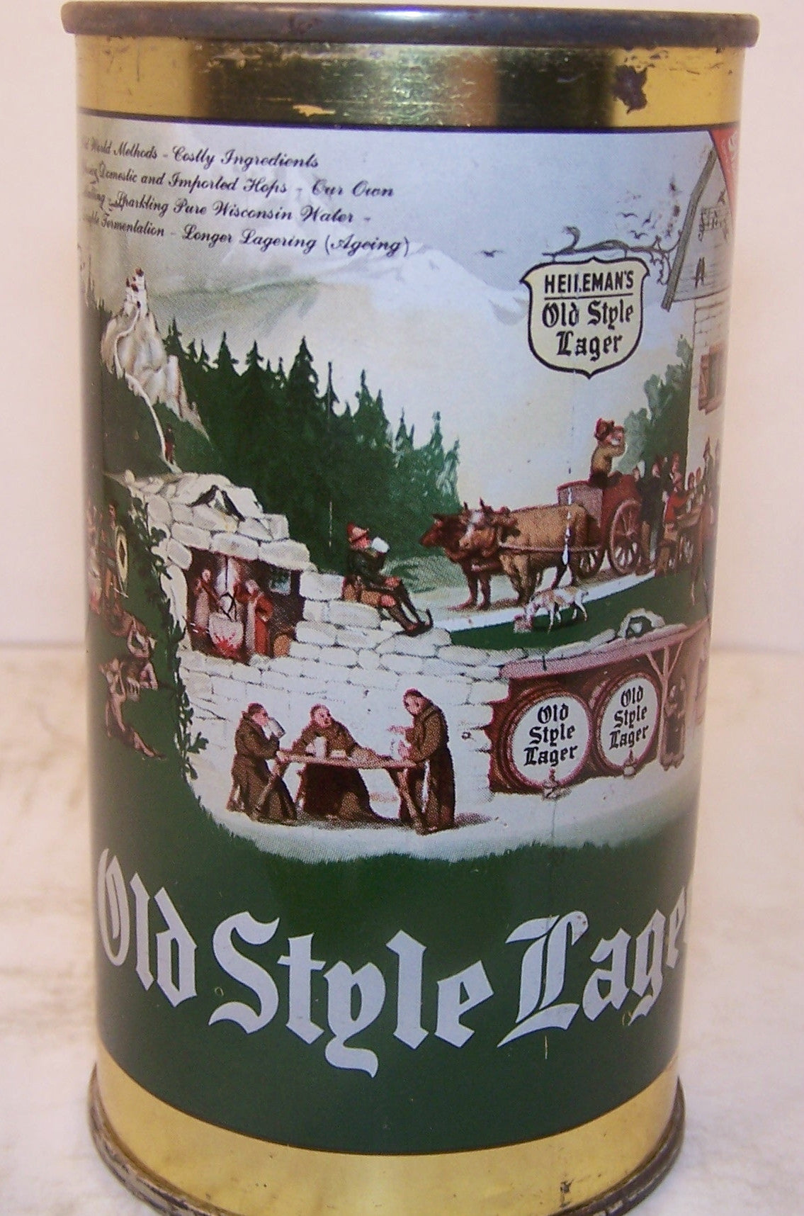 Old Style Lager Beer, USBC 108-9, Grade 1 Sold on 05/05/16
