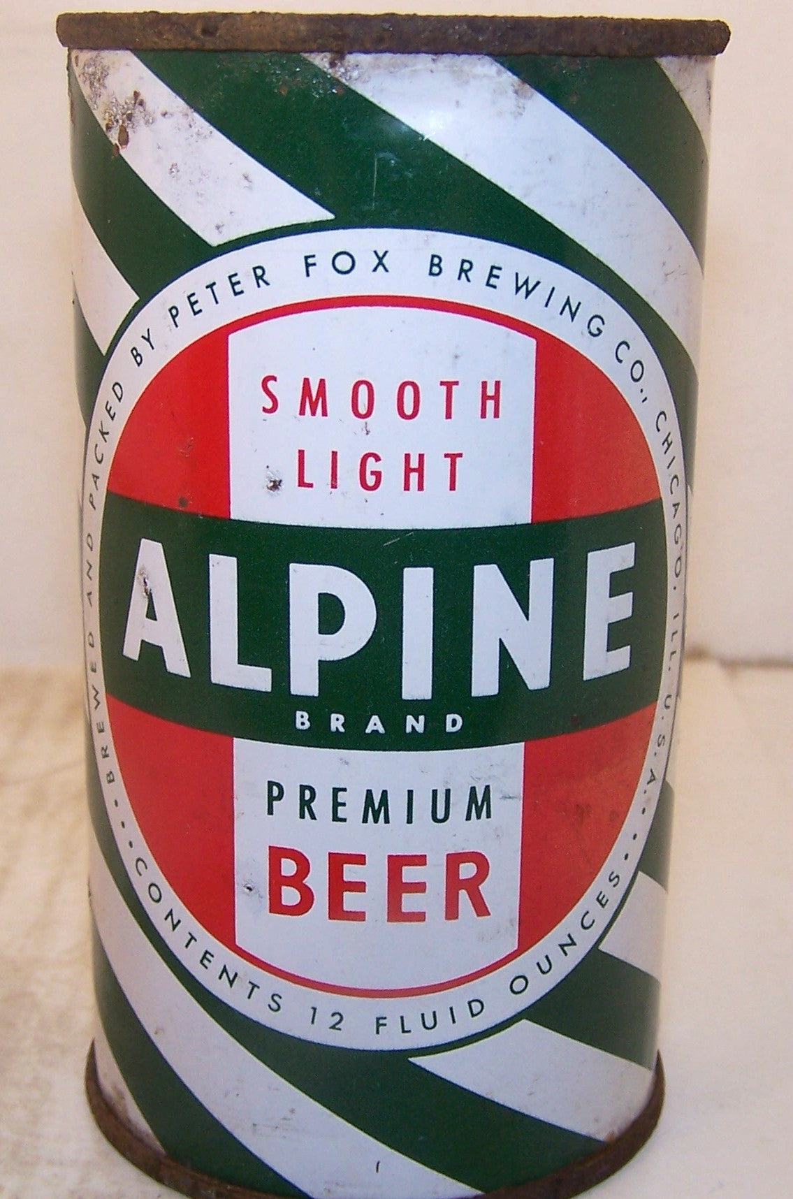 Alpine Premium Beer, USBC 30-2, Grade 1-/2+ Sold on 8/20/15