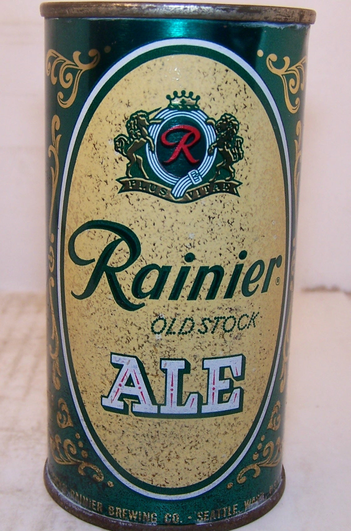 Rainier Old Stock Ale 11 ounce, USBC 118-6, Grade 1- Sold 4/19/15