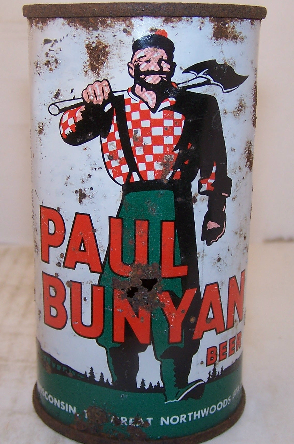 Paul Bunyan Beer, USBC 112-25, Grade 3 sold 12/29/14