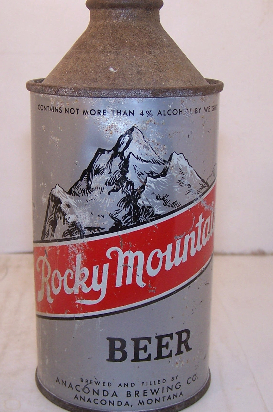 Rocky Mountain Beer, USBC 182-7, Grade 2 Sold on 3/17/15