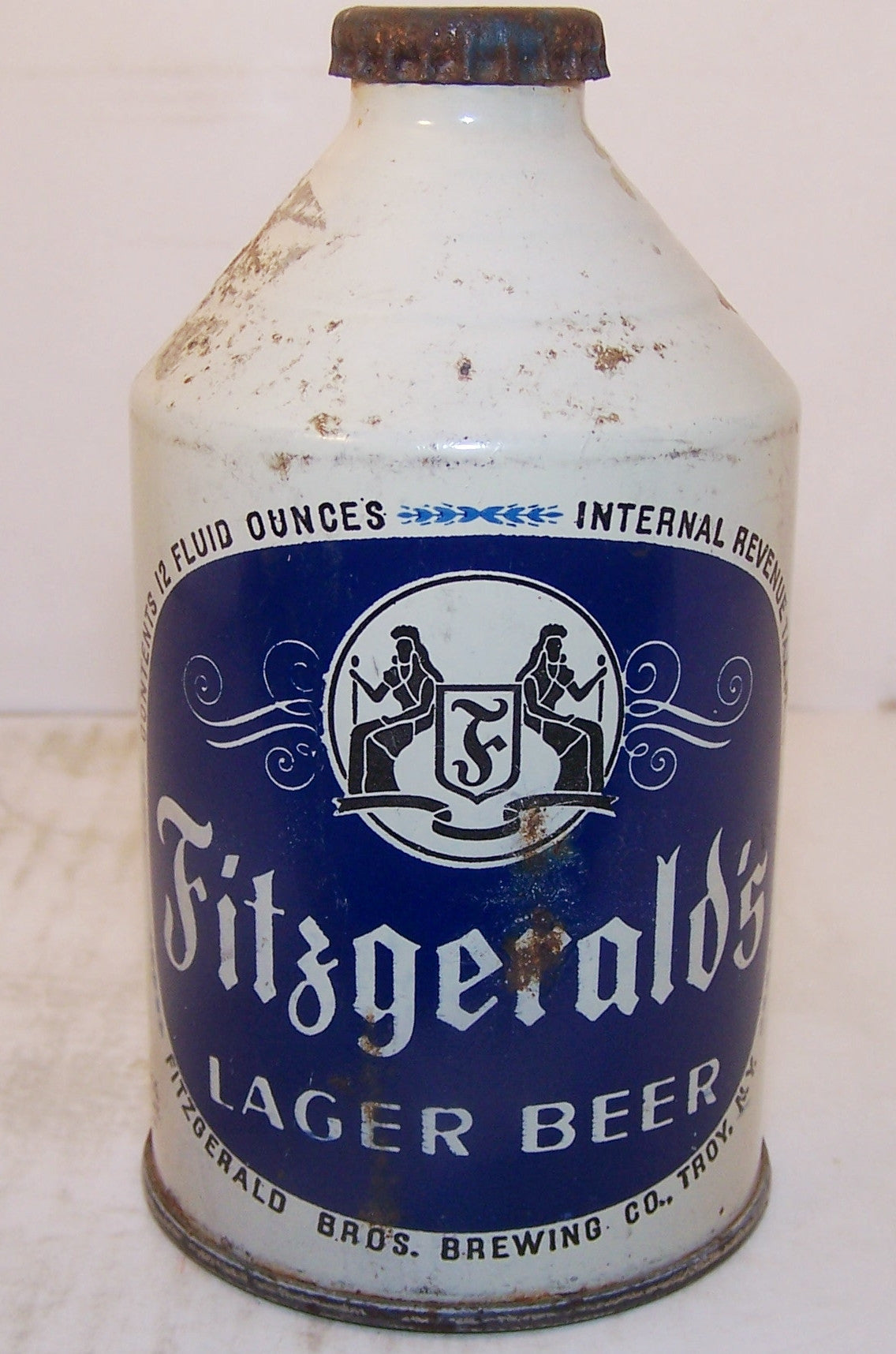 Fitzgerald's Lager Beer, USBC 194-3, Grade 1-/2+ Sold 11/28/14..
