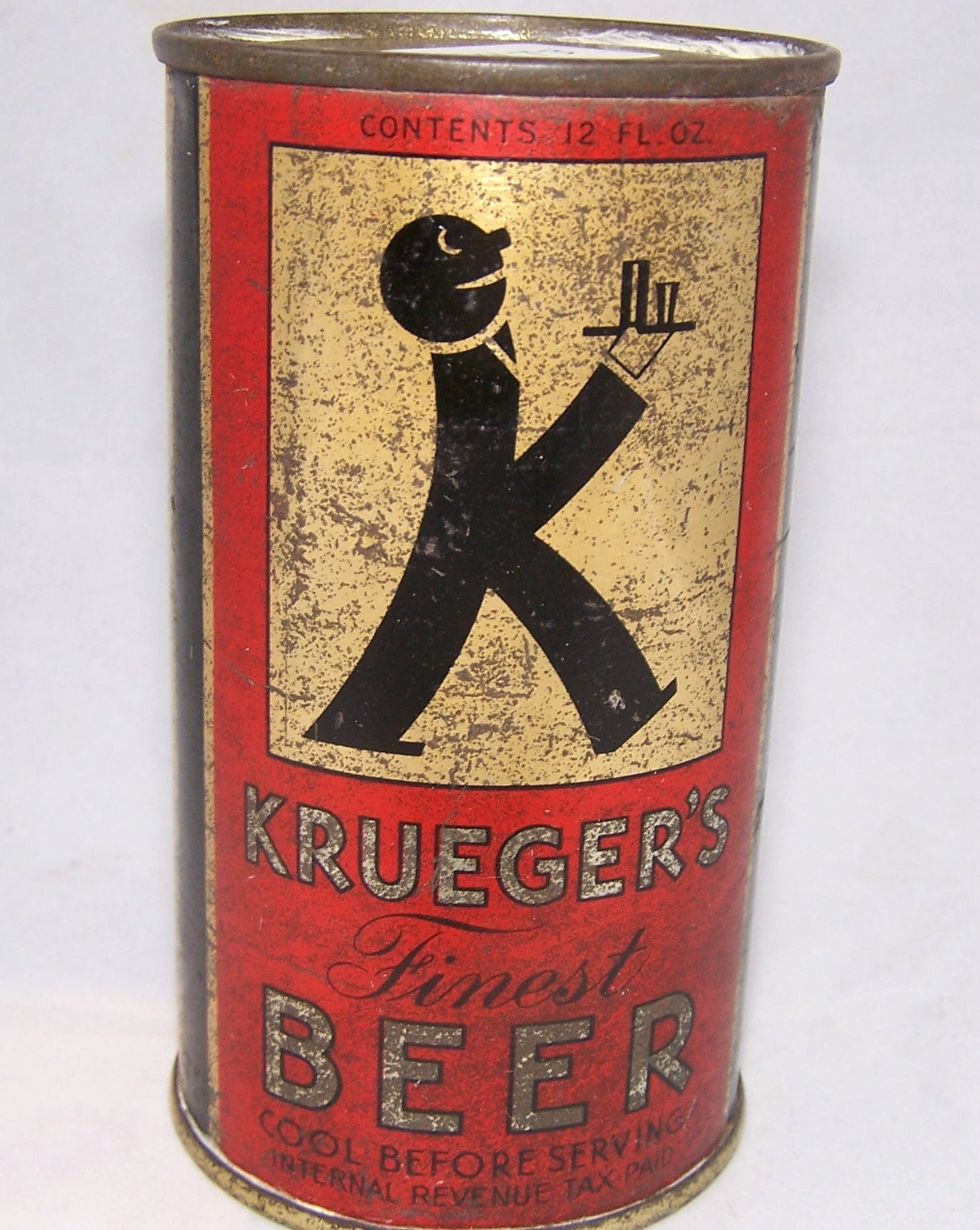 Krueger's Finest Beer, Lilek # 473, Grade  2/2+ Sold on 04/17/16
