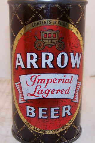 Arrow Imperial Lagered Beer, USBC 32-6 Grade 1- Sold on 2/11/15