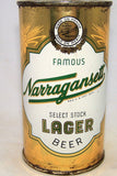 Narragansett Select Stock Lager Beer, USBC 101-27, Grade 1/1-