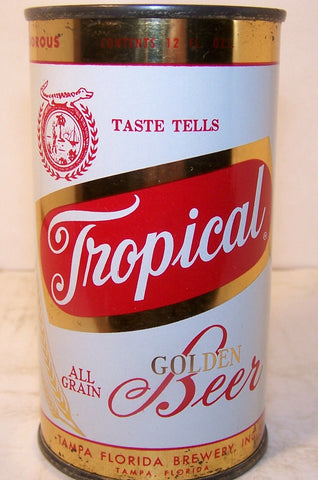Tropical Golden Beer, USBC 140-7, Grade 1/1- Sold on 10/16/17