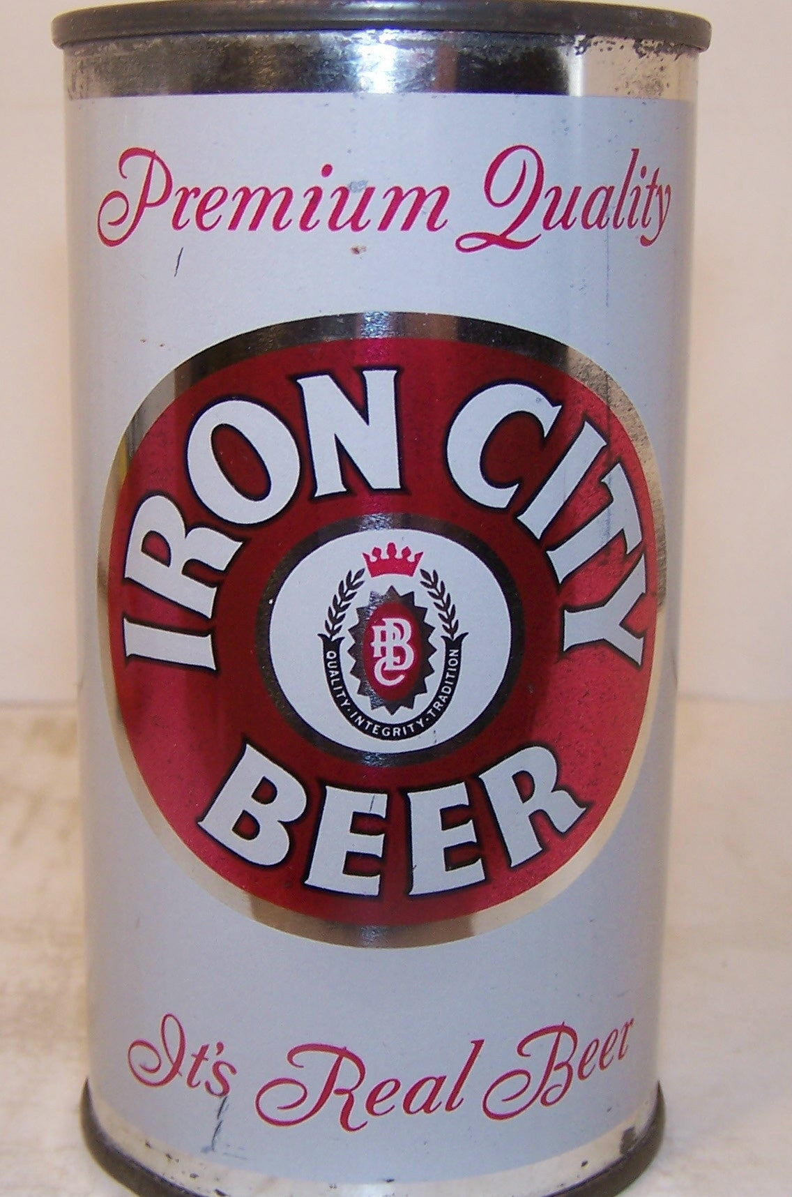 "Iron City Beer, ""It's Real Beer"" USBC 85-37, Grade 1"