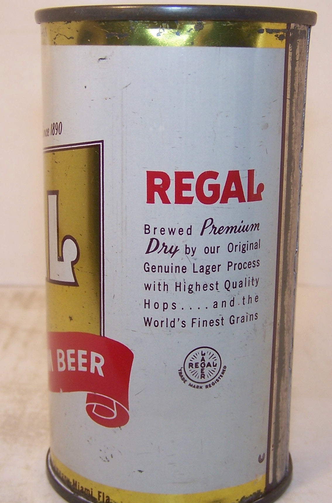 Regal Premium Beer, USBC 121-25, Grade 1-