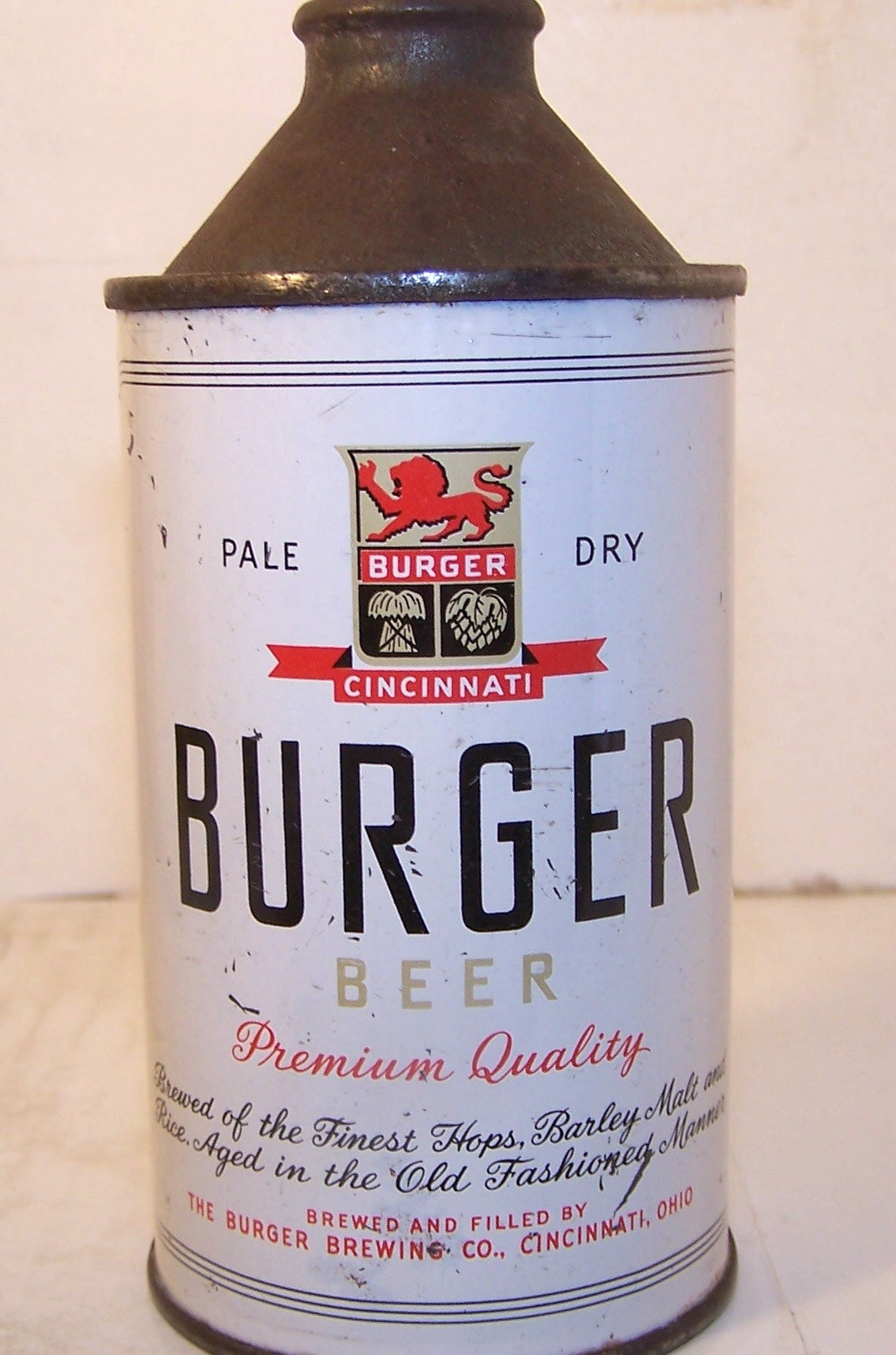 Burger Beer, USBC 155-28, Grade 1/1-sold 5/8/15