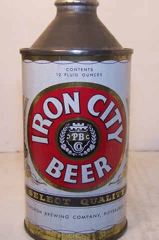 Iron City Select Quality Beer, USBC 169-1, Grade 1- Sold 4/25/15