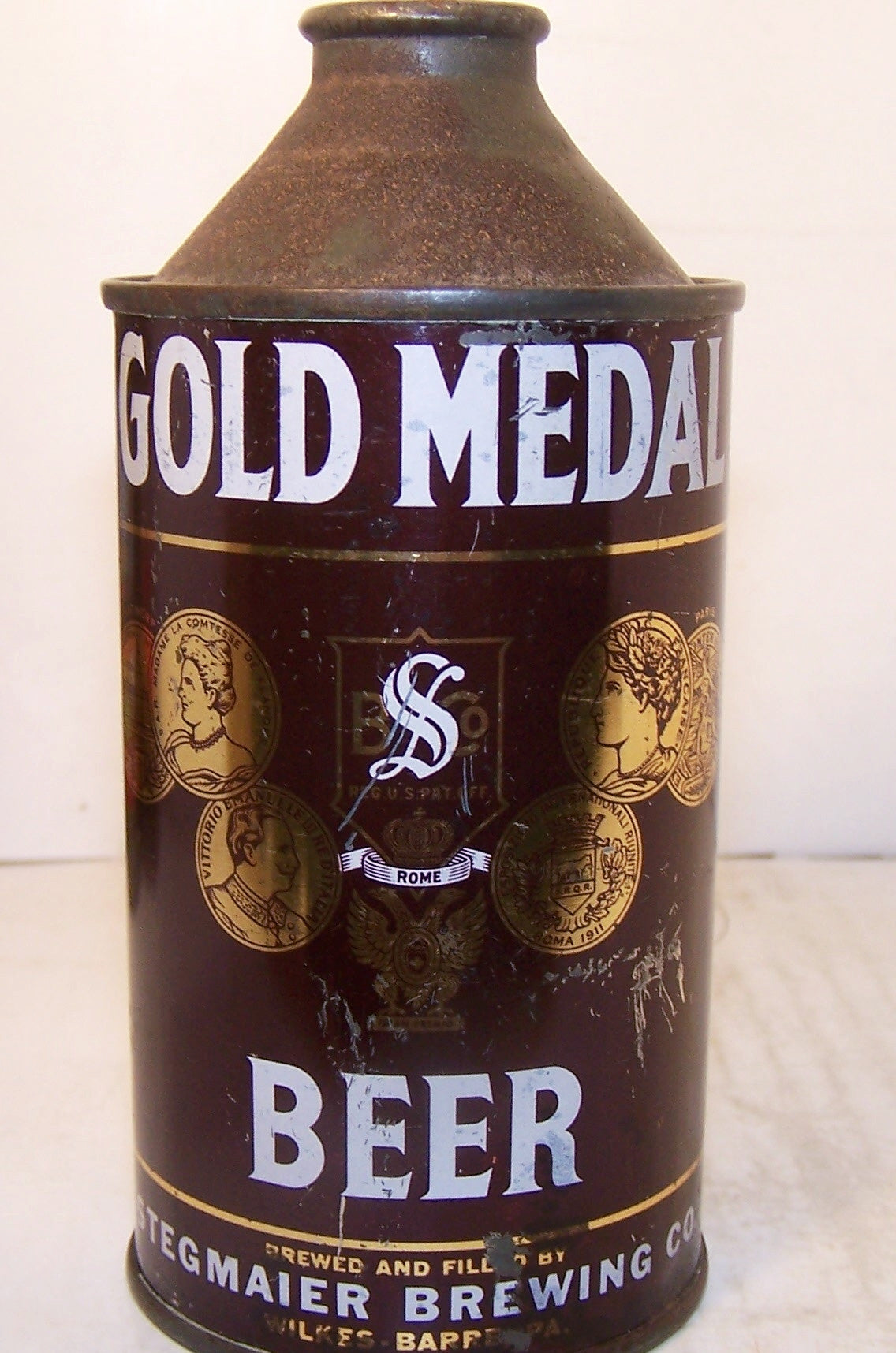 Gold Medal Beer, USBC 165-29, Grade 1- Sold on 03/18/18