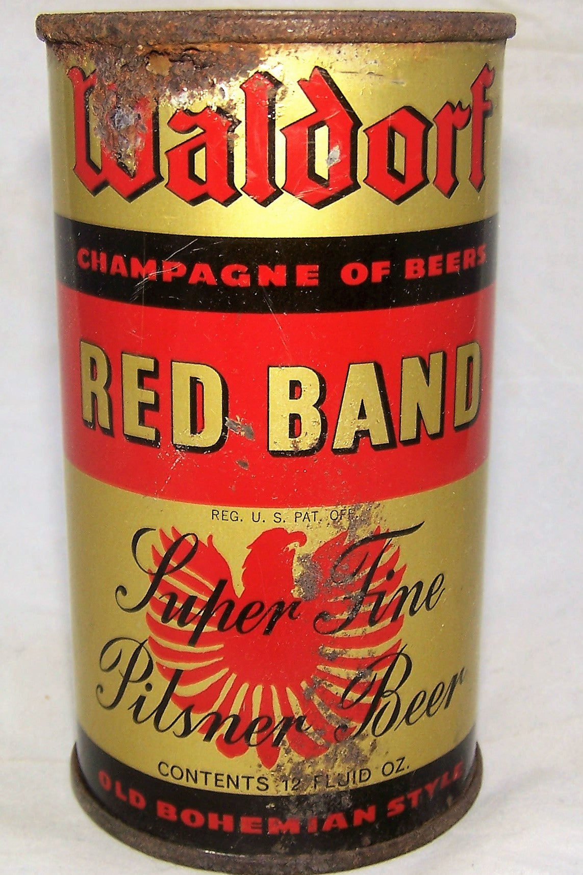 Waldorf Red Band Ale, Grade 2