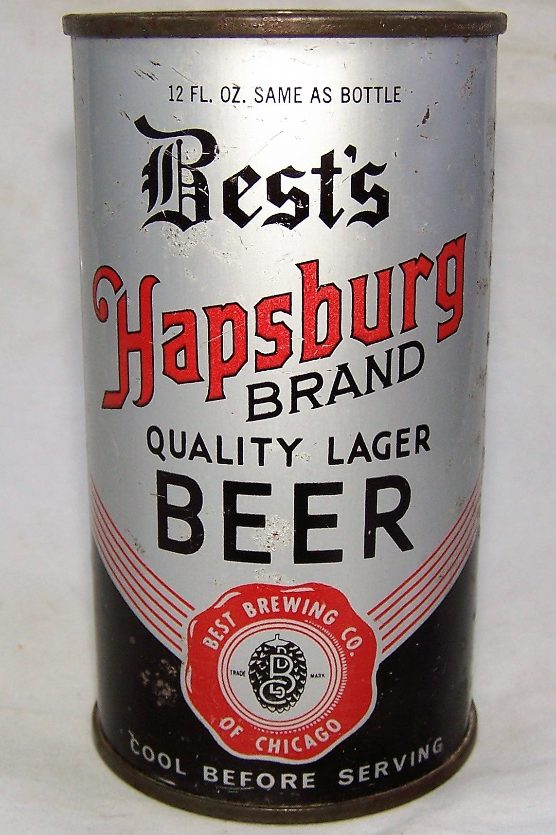 Best's Hapsburg Brand Beer, All original, barn find, Grade 2+