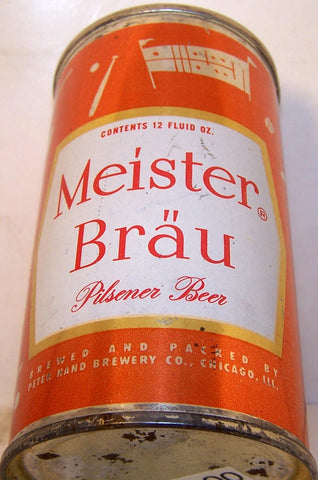 Meister Brau Pilsener Type (Baseball) USBC 95-26, Grade 1- Sold on 06/08/17