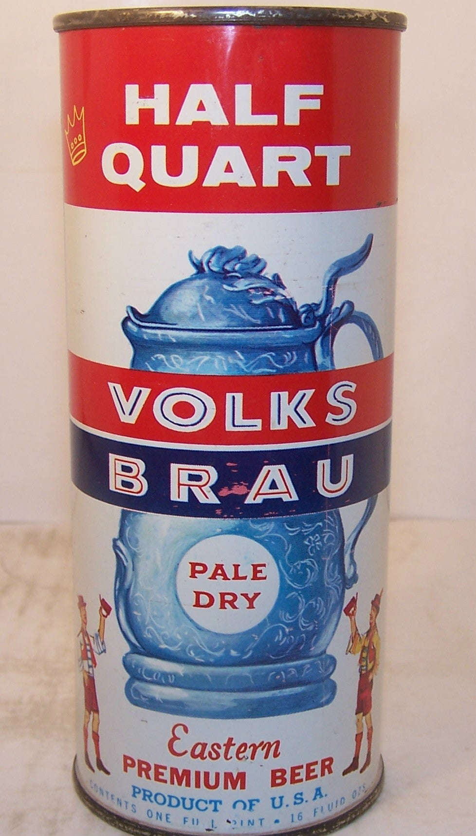 Volks Brau Pale Dry Beer, USBC 236-13, Grade 1/1+ Sold on 9/2/15