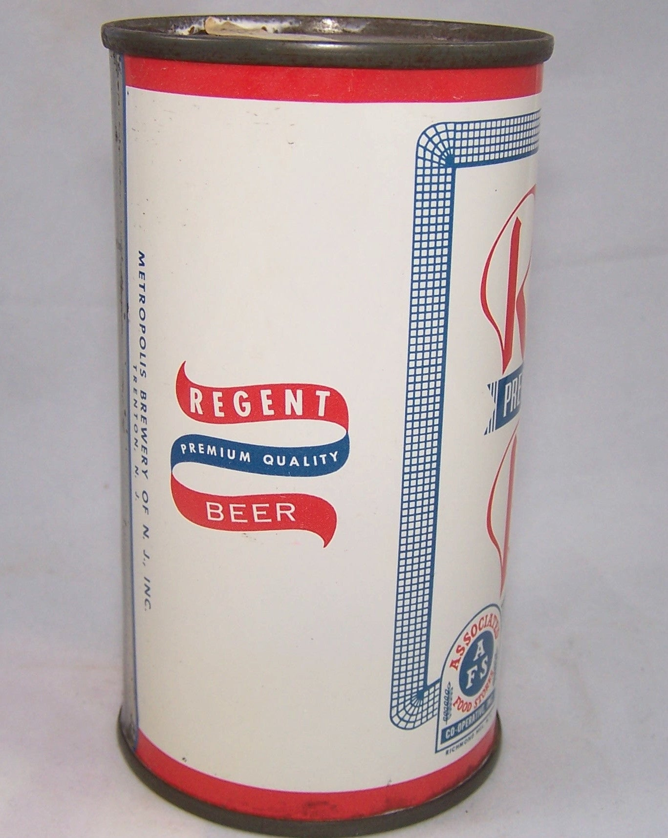 Regent Premium Quality Beer, USBC 122-13, Grade 1 to 1/1+Sold on 07/23/16