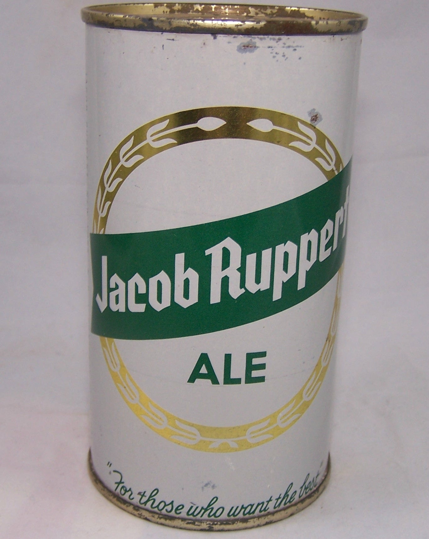 Jacob Ruppert Ale, USBC 125-38, Grade 1 Sold on 10/15/17