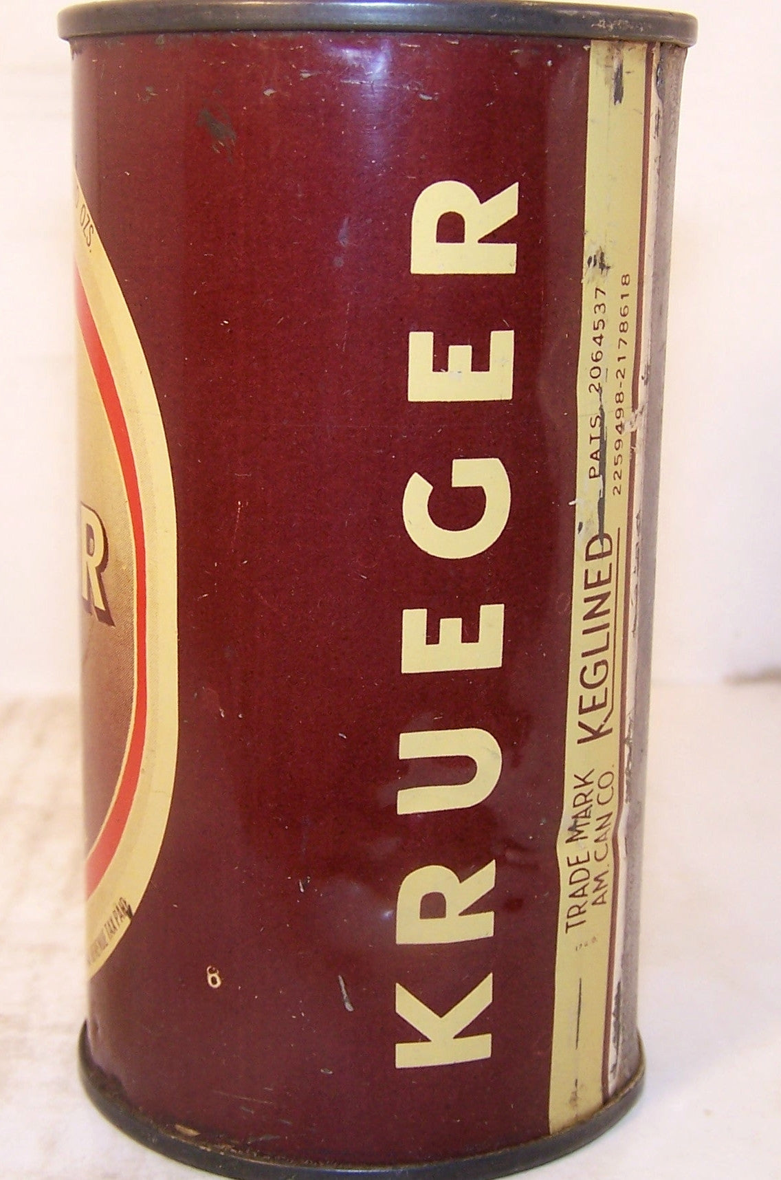 Krueger Finest Beer, USBC 90-12, Grade 1/1-  Sold 12/9/14