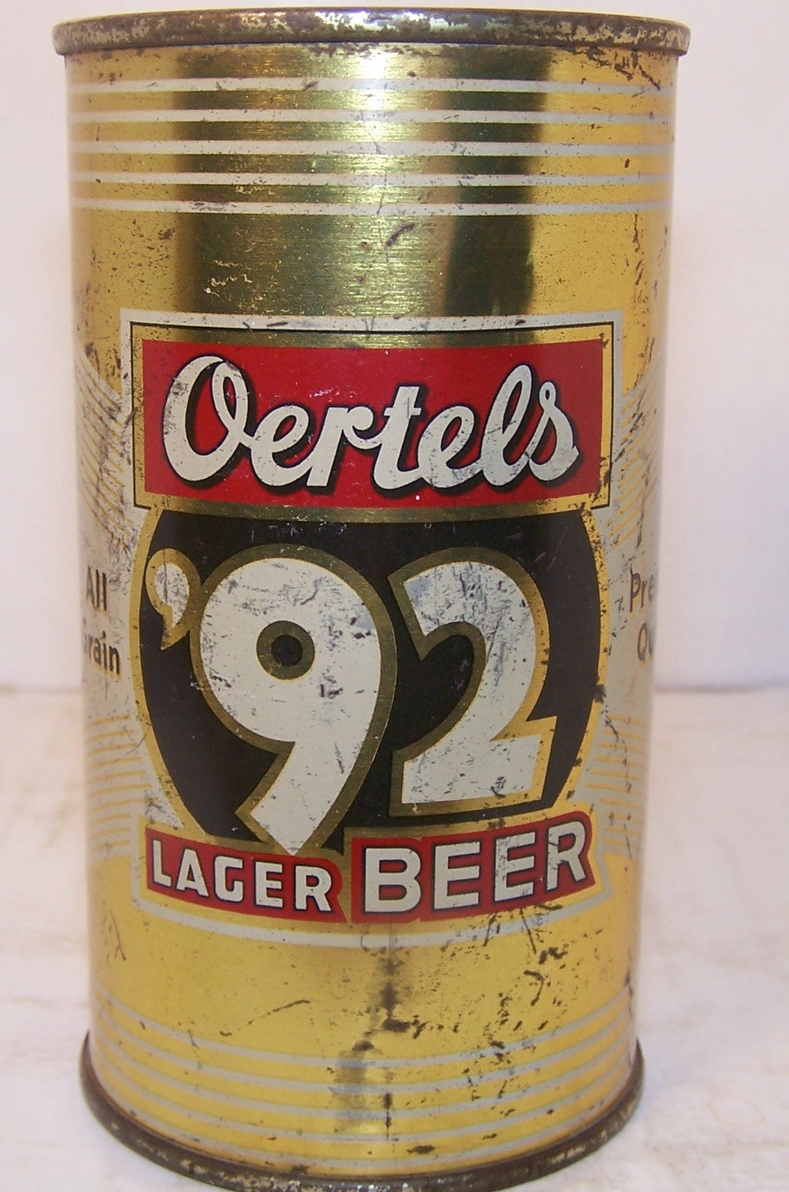 Oertel's 92 Lager Beer, USBC 104-2, Grade 1-/2+ Sold on 3/18/15