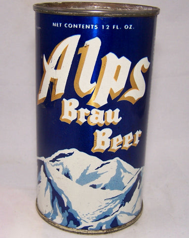 Alps Brau Beer (Gold Trim) USBC 30-07, Grade 1/1+ Sold on 05/16/16
