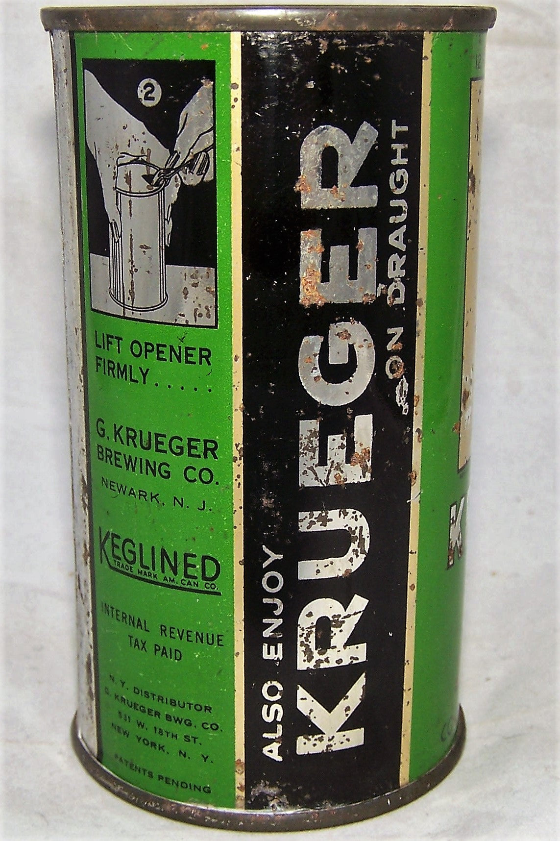 Krueger Cream Ale Medium Opener Tuff can