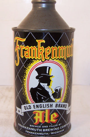 Frankenmuth Old English Brand Ale, USBC 163-28, Grade 1/1+  Sold 12/6/14