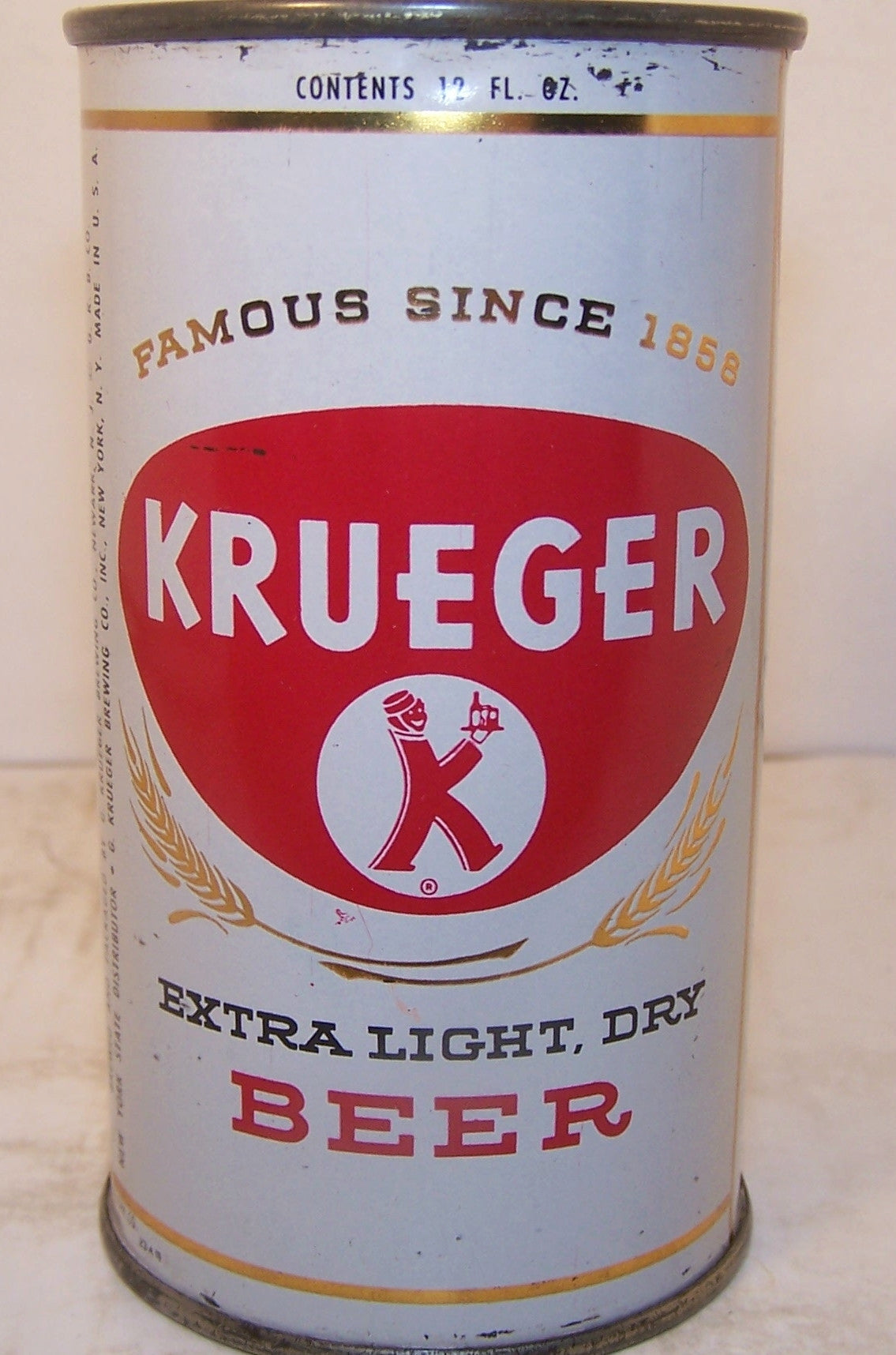 Krueger Extra Light Dry Beer, USBC 90-20, Grade 1