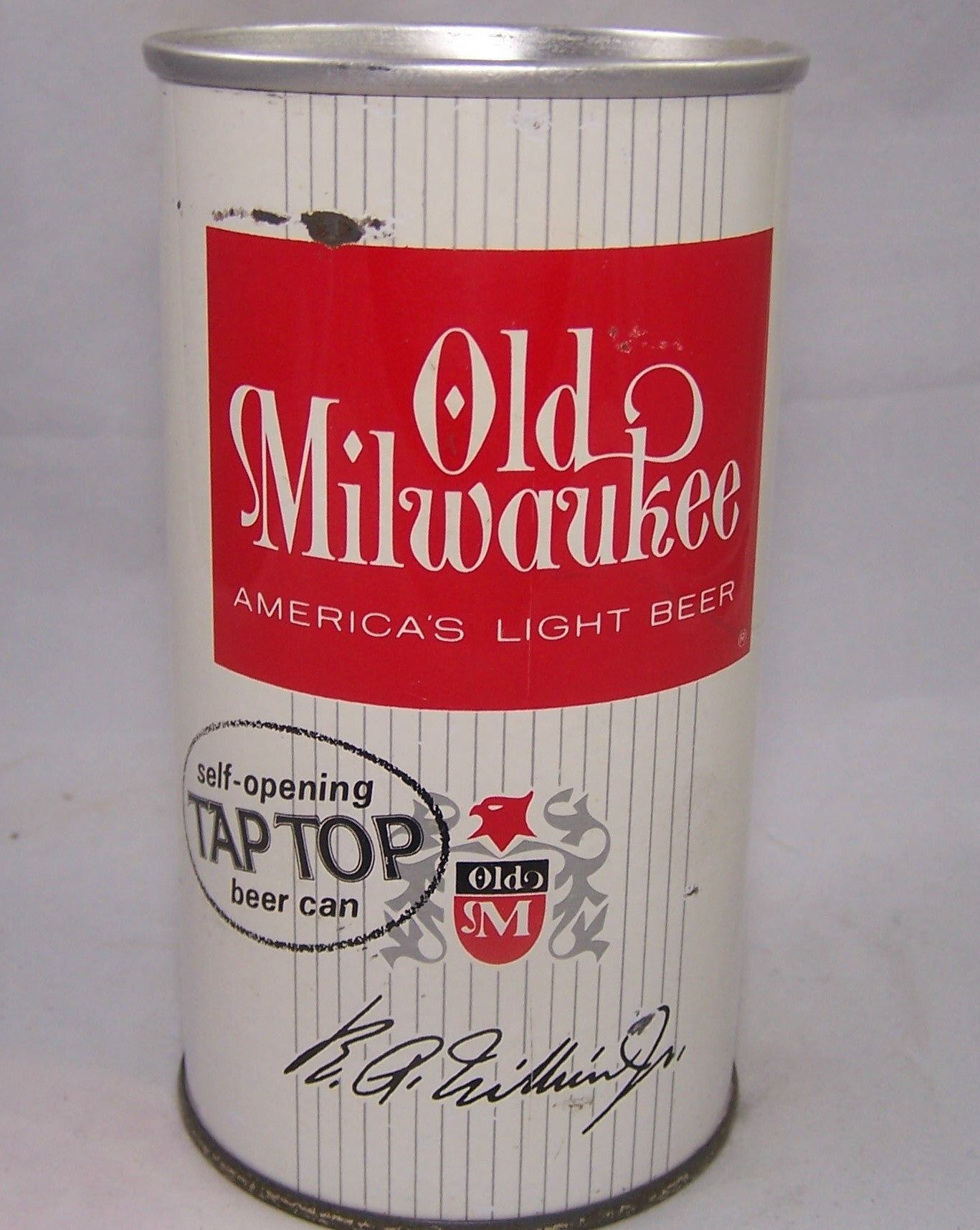 Old Milwaukee (Self Opening TAB TOP) USBC II 101-40, Grade 1/1-