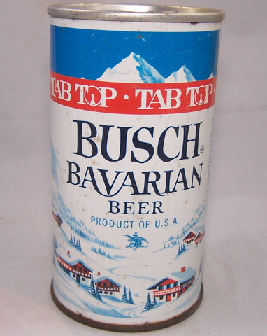 Busch Bavarian Beer (Tab Top) USBC II 52-38, Grade 1/1- Sold on 08/02/16