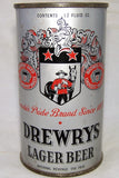Drewrys Lager Beer O.I, Pretty clean can, Grade 1