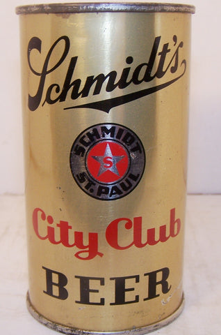 Schmidt's City Club Beer, Lilek Page # 744, Grade 1