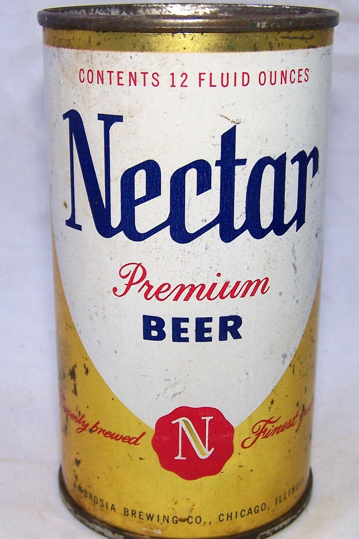 Nectar Premium Beer, Chicago, Grade 1-