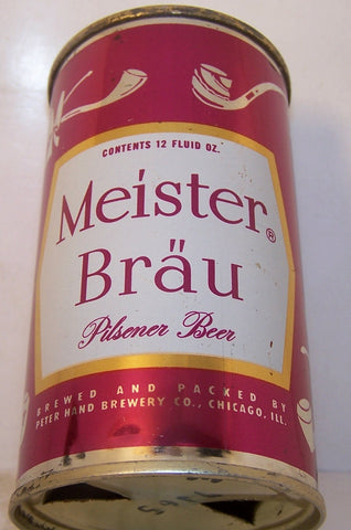Meister Brau (Pipes) Beer, USBC 95-34, Grade 1/1+  Sold on 2/27/15