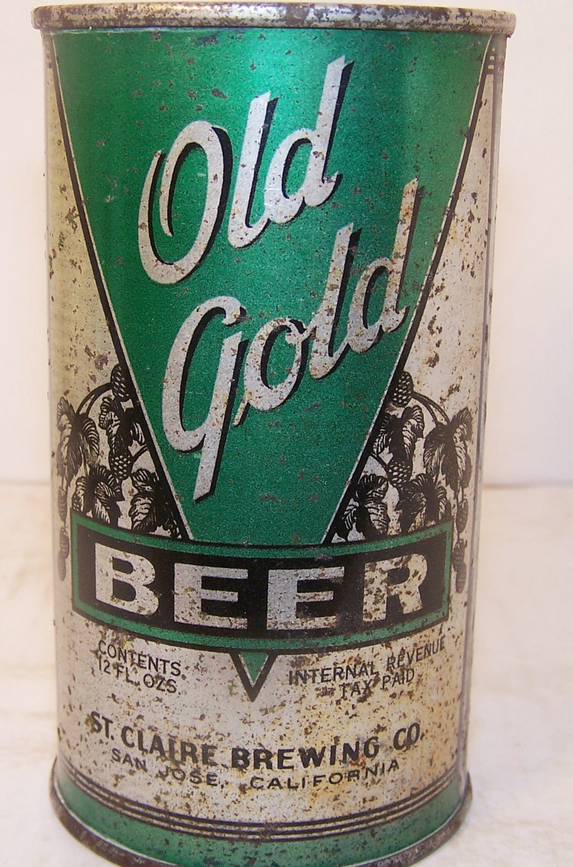 Old Gold Beer, USBC 107-3, Grade 1-/2+ Sold on 12/11/14