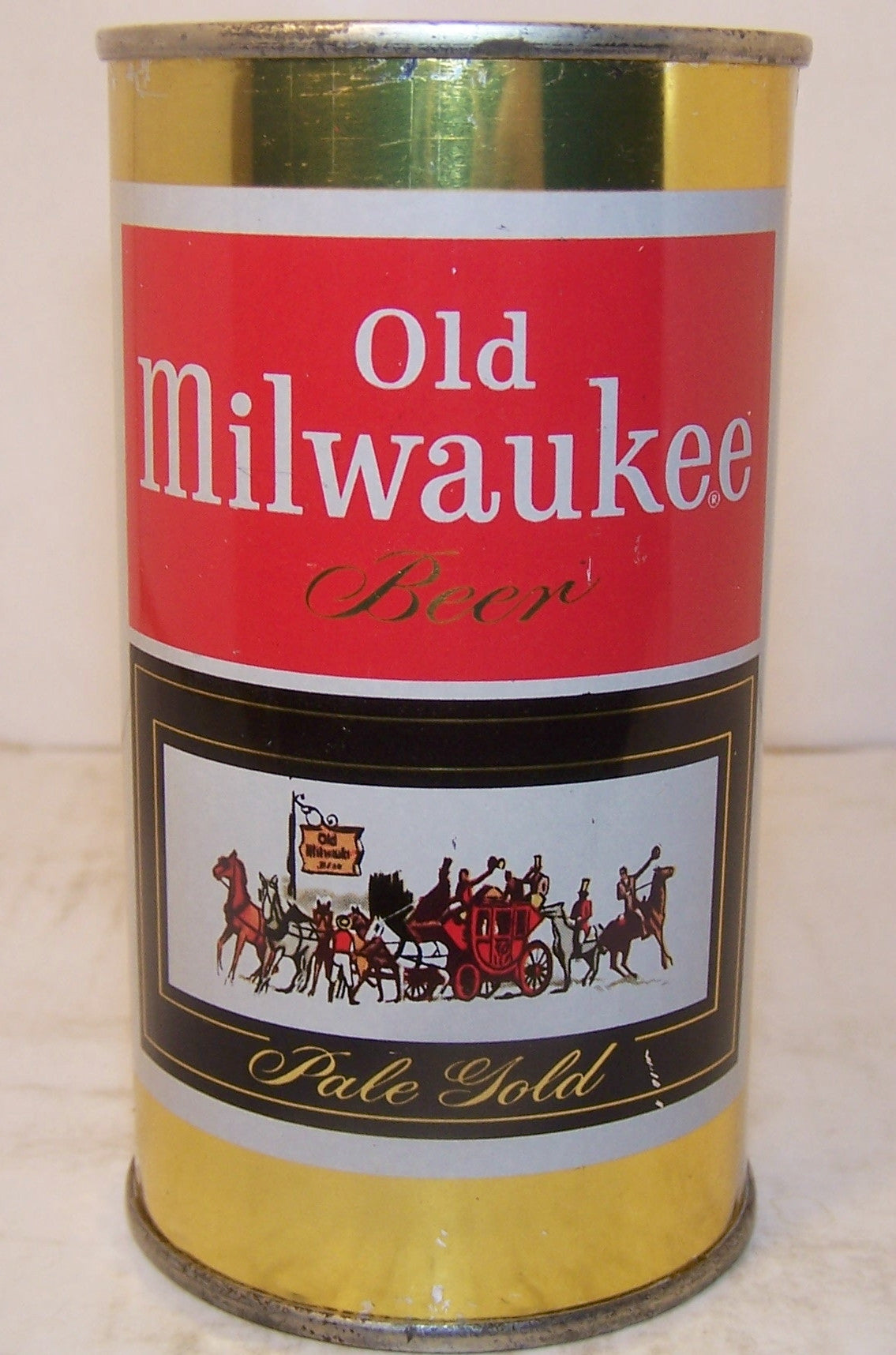 Old Milwaukee Pale Gold, USBC 107-26, Grade A1+ Sold 3/7/15