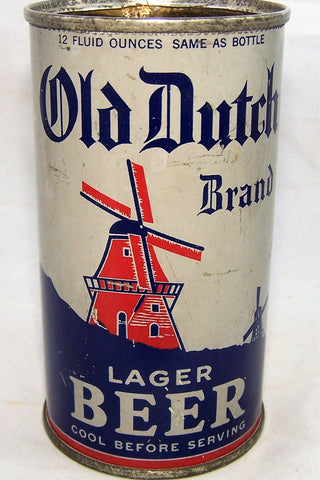 Old Dutch Brand Lager Beer (Dull Gray) USBC 105-34 and Lilek # 601, Grade 1-