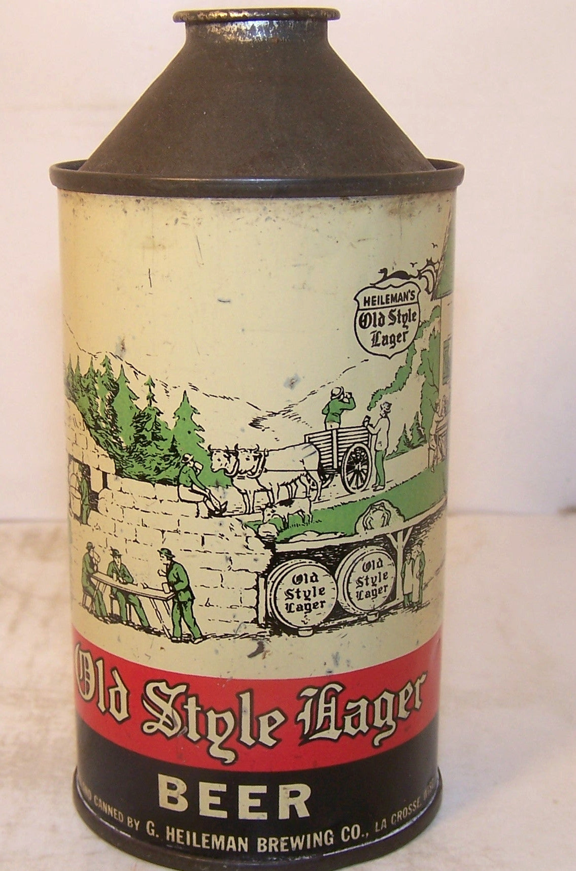 Old Style Lager Beer, USBC 177-17, Grade 1-sold5/8/15 $100
