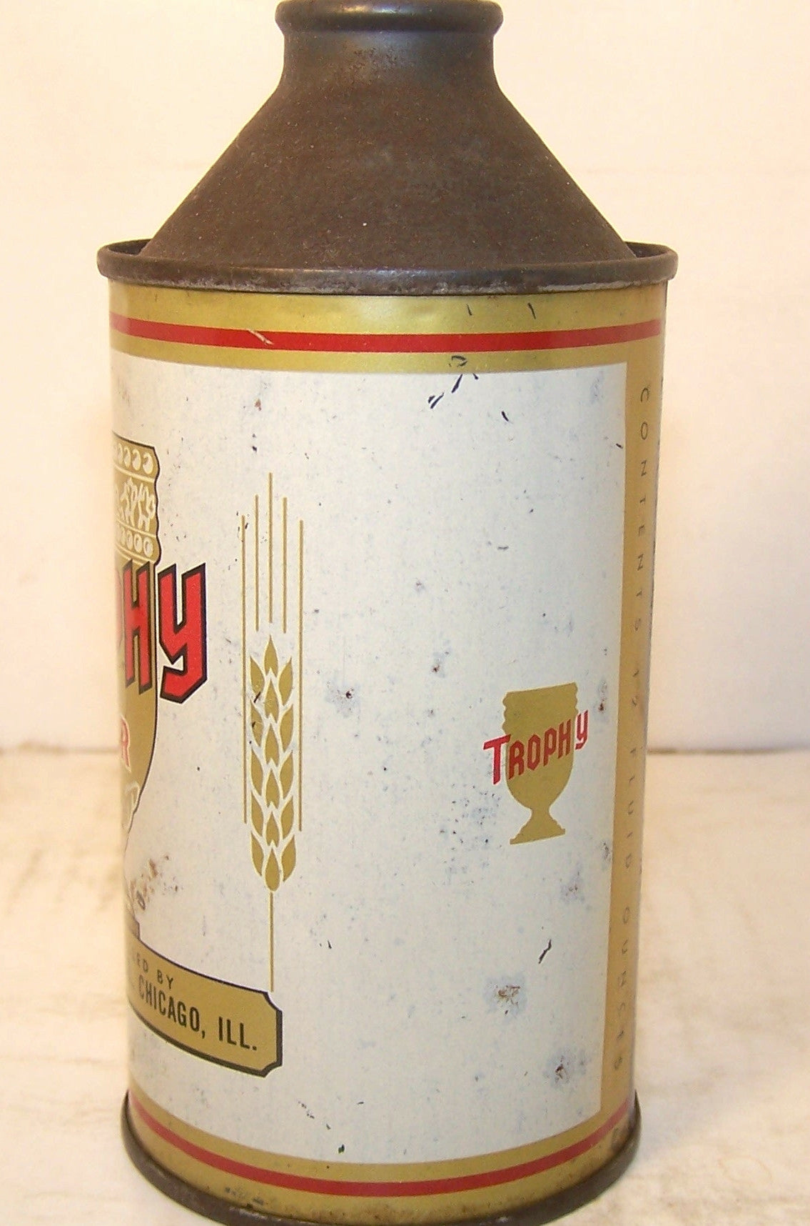 Trophy Beer, USBC 187-12, Grade 1- Sold on 6/22/15