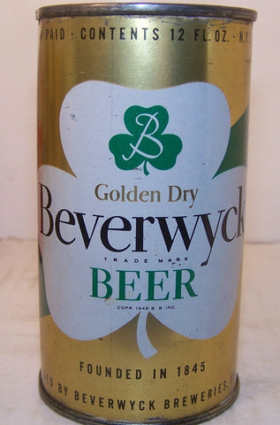 Beverwyck Beer, USBC 36-38, Grade 1/1- Sold 02/02/16
