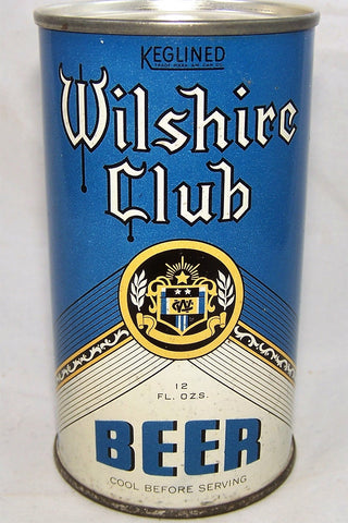 Wilshire Club (Keglined) USBC 146-10, and Lilek # 882, Grade 1