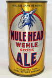 Wehle Mule Head stock Ale, USBC 100-37 and Lilek # 540 Grade 1