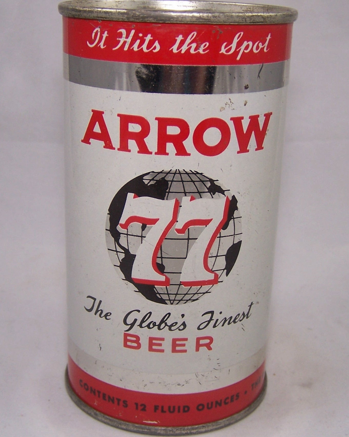 Arrow 77 (It Hits The Spot) Beer, USBC 32-08, Grade 1 Sold on 09/01/19