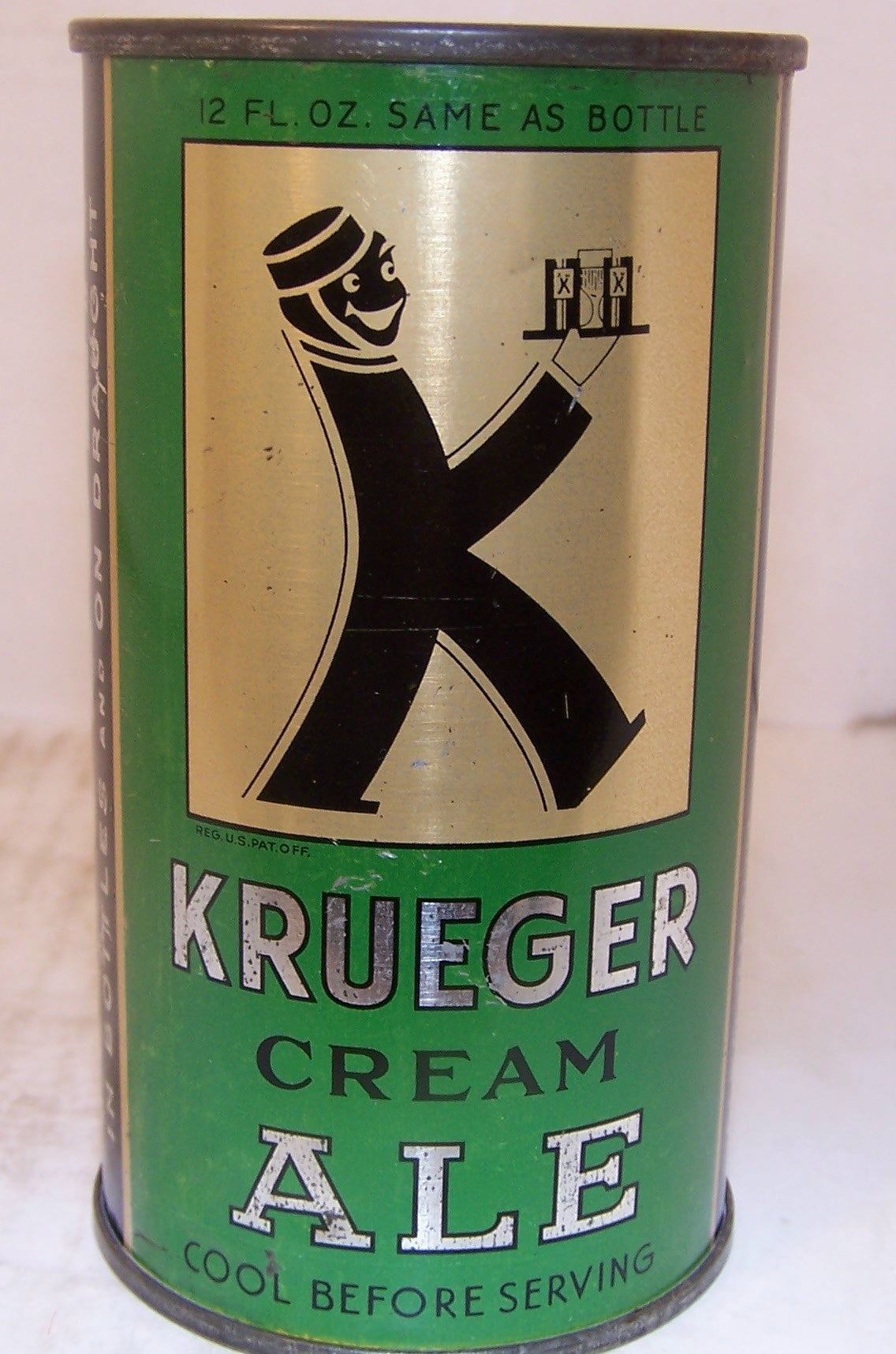 Krueger Cream Ale, Lilek page # 465, Grade 1 to 1/1+ Sold 12/26/14