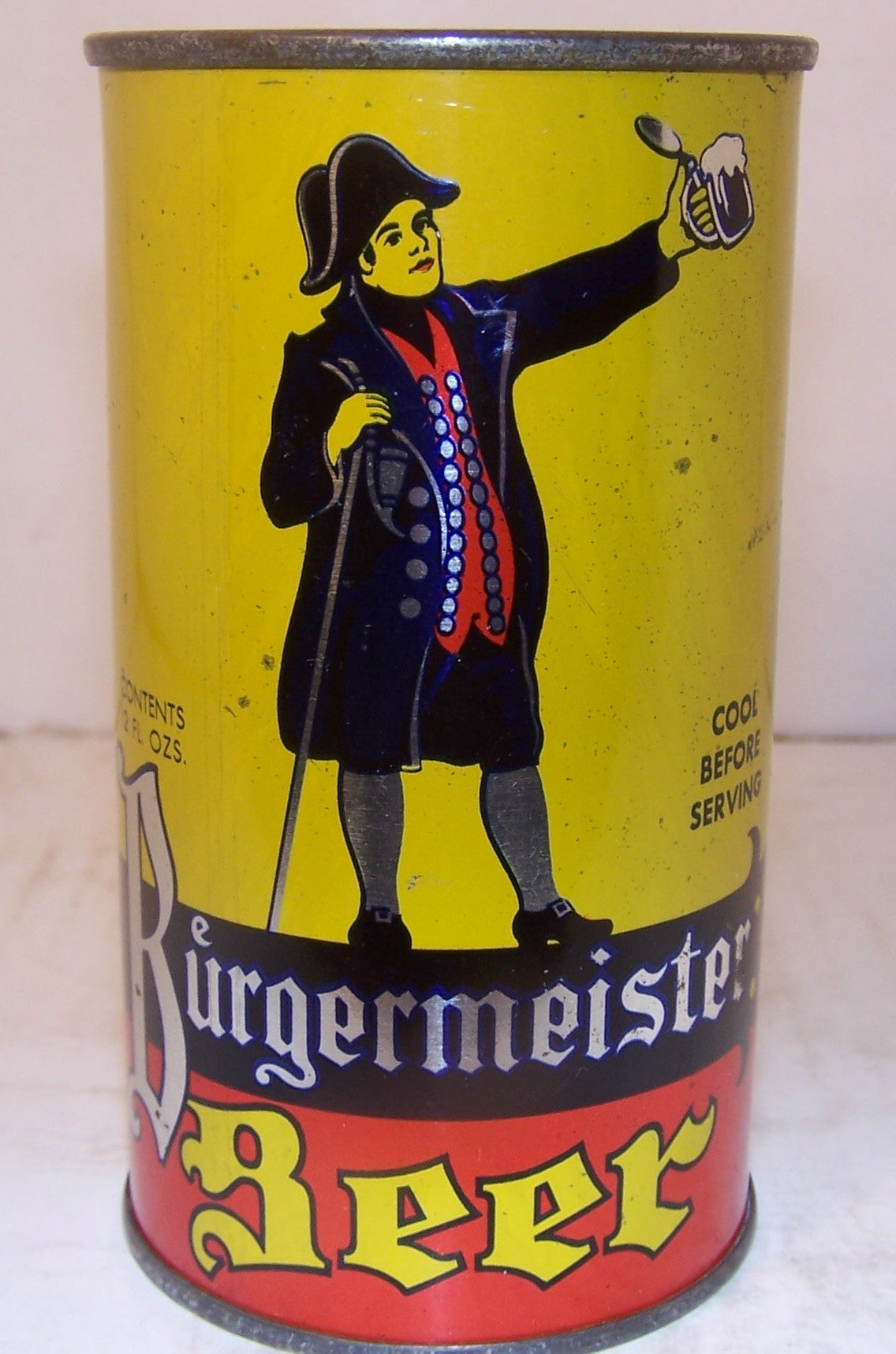 Burgermeister Beer Lilek Page 180 Metallic Grade 1 1 Sold On 12 2 Beer Cans Plus
