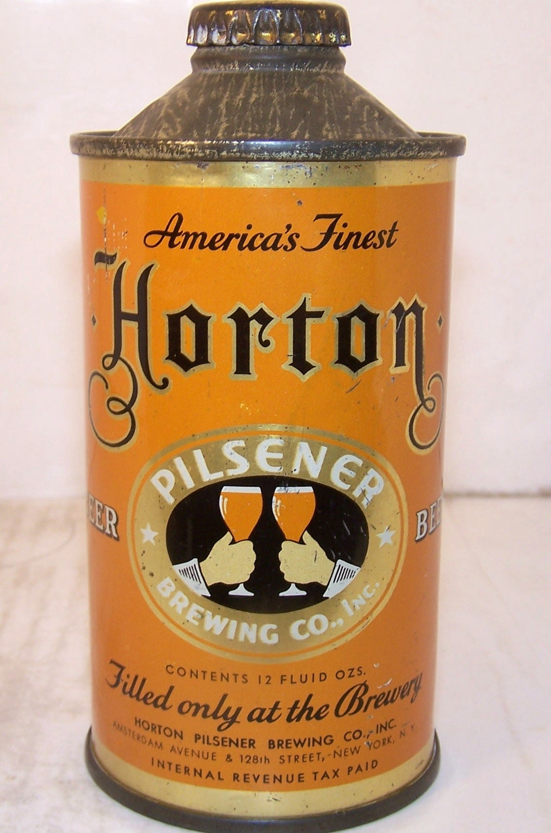 Horton Pilsener Beer (Low-Pro) USBC 169-16, Grade 1/1- Sold on 2/16/15